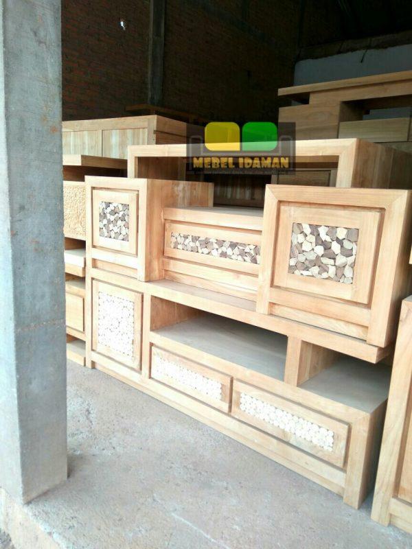 Cabinet TV Minimalis Koin Jati