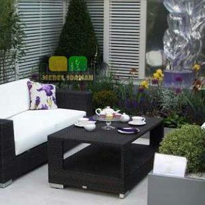 Sofa Tamu Rotan Minimalis