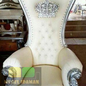 Kursi Sofa Syahrini Putih Mewah