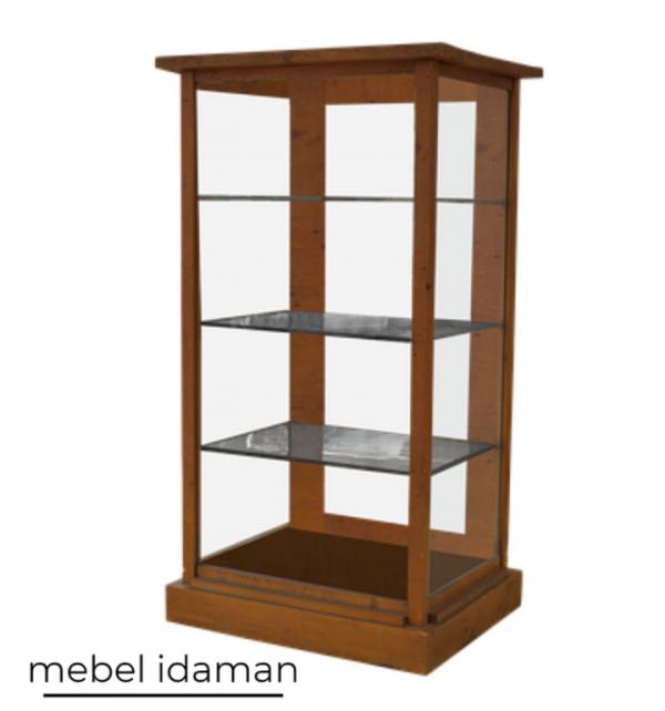 Lemari Kaca Minimalis