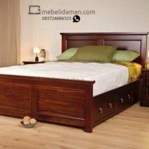 Dipan Tempat Tidur Minimalis