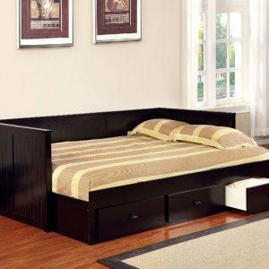 Sofa Bed Minimalis Dark Brown
