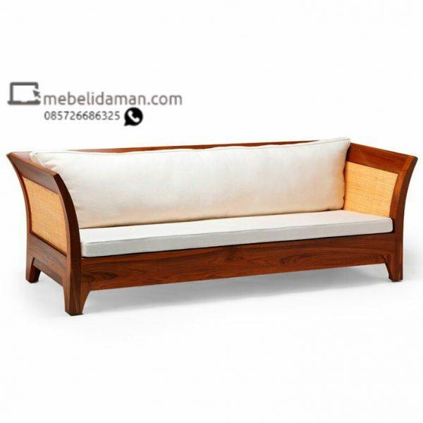 Sofa Tamu Kayu minimalis