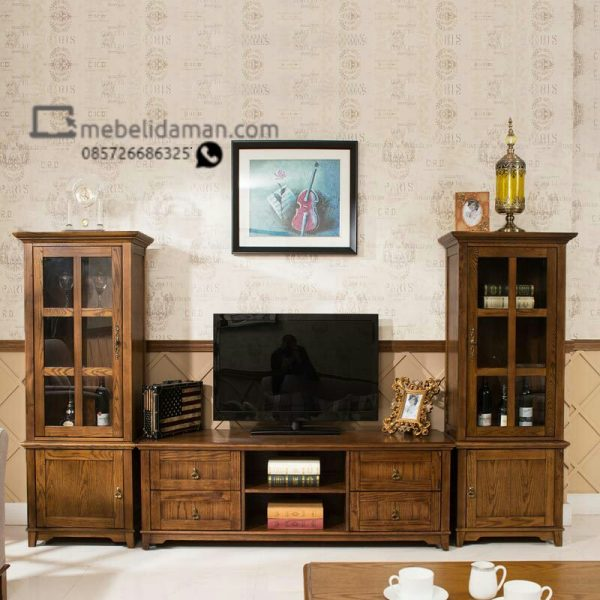 Cabinet TV minimalis Brown