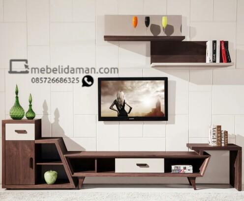 TV Cabinet dan Rak Dinding