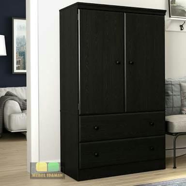 Lemari Pakaian Pintu 2 Minimalis Modern