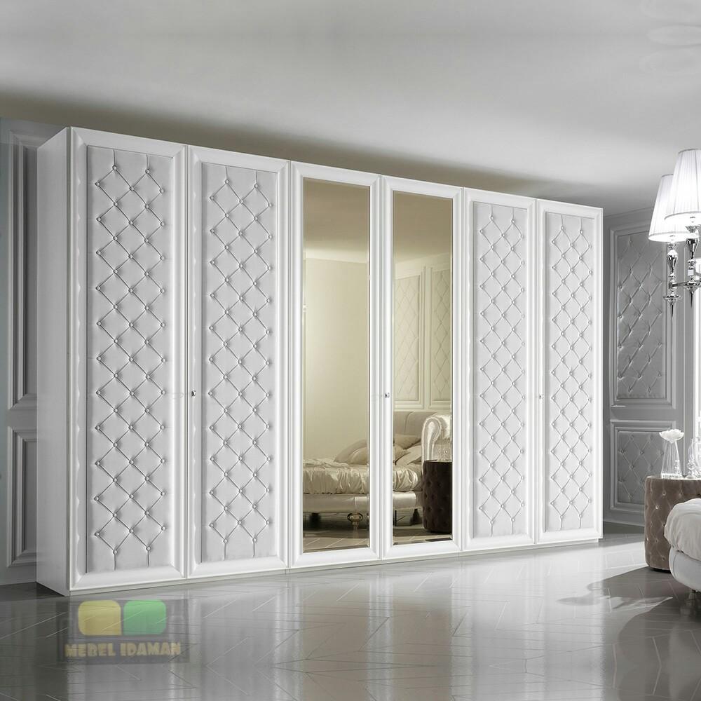 Lemari Pakaian Minimalis Pintu 6 Mewah Mebel Idaman Gambar lemari pakaian minimalis