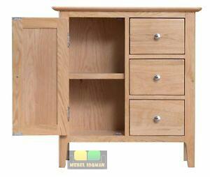 Nakas Buffet Minimalis Laci 3 kayu Jati Solid