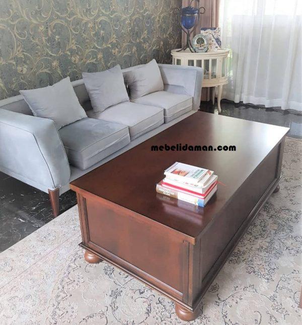 Kursi Sofa Tamu Retro Modern