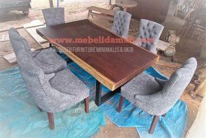 Kursi Sofa meja makan